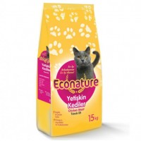 Econature Tavuklu Yetişkin Kedi Maması( Adult Cat Chicken Formula) ,