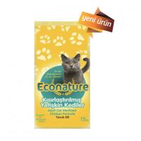 Econature Tavuklı Kısırlaştırılmış Kedi Maması 15 Kg